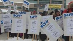 Deux championnats provinciaux perturbés par la grève à l'Université Laval