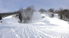 Derniers préparatifs à la station de ski Vallée du Parc