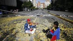 Le Venezuela paralysé par une grève nationale de 24heures