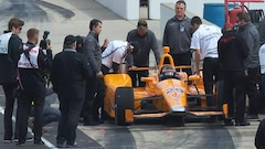 Alonso aura 30 chevaux de plus pour le «fast Friday» à Indy