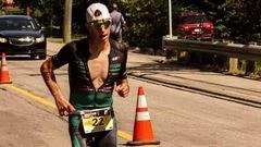Antoine Jolicoeur Desroches, le triathlonien végétalien au cœur de lion
