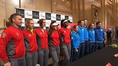 La jeunesse canadienne contre l'expérience kazakhe en Fed Cup