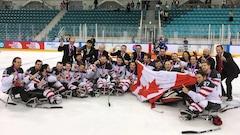 Le Canada champion du monde de hockey sur luge