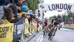 Une Québécoise gagne une course de vélo à pignon fixe à Londres