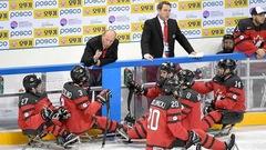 Le Canada demeure invaincu au mondial de parahockey