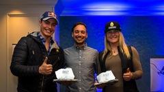 Erik Guay et Valérie Grenier nommés skieurs canadiens de l'année