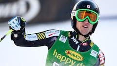 Erik Read arrive 7e au slalom à Kitzbühel