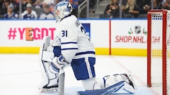 Les Maple Leafs perdent Andersen et le match