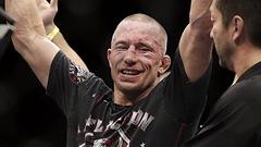 Georges St-Pierre de retour dans l'UFC