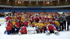 Un trio de hockeyeurs amateurs au service de l'équipe nationale nord-coréenne
