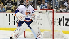 Halak remporte son premier match en 2017 face aux Penguins