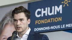 Jonathan Drouin devient ambassadeur de la Fondation du CHUM