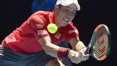 Kei Nishikori démarre lentement en Australie