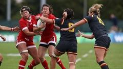 Les Canadiennes l'emportent à la Coupe du monde de rugby