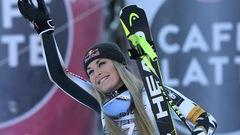 Lindsey Vonn de retour au sommet