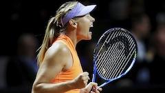 Maria Sharapova s'arrête en demi-finales à Stuttgart