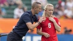 Soccer féminin:L'Angleterre renvoie son sélectionneur
