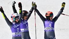 Les Italiennes réalisent un triplé en slalom géant à Aspen