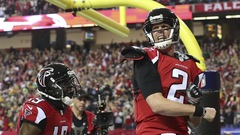Les Falcons au Super Bowl