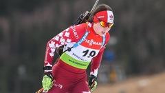 Megan Bankes couronnée aux mondiaux juniors de biathlon