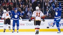Les Flames font chou blanc à Toronto