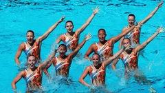 [EN DIRECT] Le programme librepar équipe en nage synchronisée