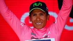 Nairo Quintana s'empare du maillot rose au Giro