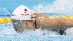 Les Canadiennes au pied du podium au relais 4x100m libre aux mondiaux