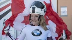 La Canadienne Mirela Rahneva brise la glace à la Coupe du monde de Saint-Moritz