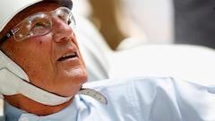L'ancienne légende de F1 Stirling Moss est hospitalisée