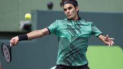 Federer atteint les quarts de finale à Miami