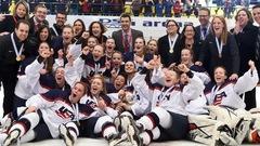 Les Américaines battent les Canadiennes en finale du Mondial U-18
