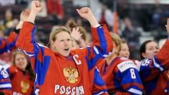 Six joueuses de l'équipe féminine de hockey russe exclues à vie des Jeux olympiques