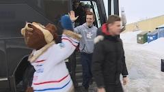Les jeunes athlètes arrivent à Alma pour les Jeux du Québec