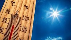 Des records de chaleur ont été enregistrés