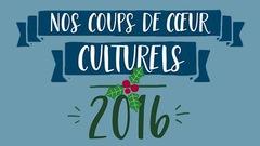 Les coups de coeur littéraires québécois de l'équipe d'ICI ARTV en 2016
