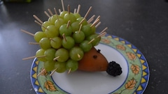 Un hérisson fruité