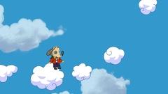 Polo dans les nuages