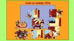 """Joue à """"Casse-tête - Le rêve de Passepoil"""" (ce jeu est en Flash)"""