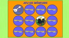 """Joue à """"Jeux de mémoire Dominique raconte"""" (ce jeu est en Flash)"""