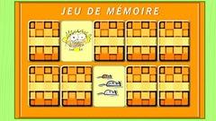 """Joue à """"Jeux de mémoires"""" (ce jeu est en Flash)"""