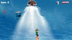 """Joue à """"Planche nautique"""" (ce jeu est en Flash)"""