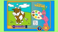 """Joue à """"Les Hoobs - Les vaches"""" (ce jeu est en Flash)"""