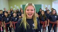 Pure laine et colorée - École Rose des Vents