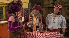 Les pirates et le haricot magique