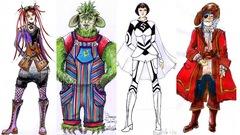 Entrevue Salmigondis : les costumes