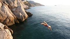 Les plongeurs extrêmes