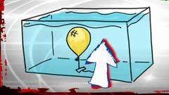L'analyse - Le ballon et l'aquarium
