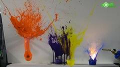 VPVX - Peinture explosive sur toile