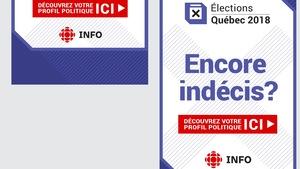 Publicité Info Élections Québec 2018 La boussole électorale